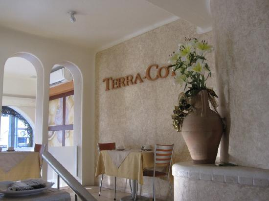 Mision de los Arcos: Many good meals were eaten at The Terra-Cotta