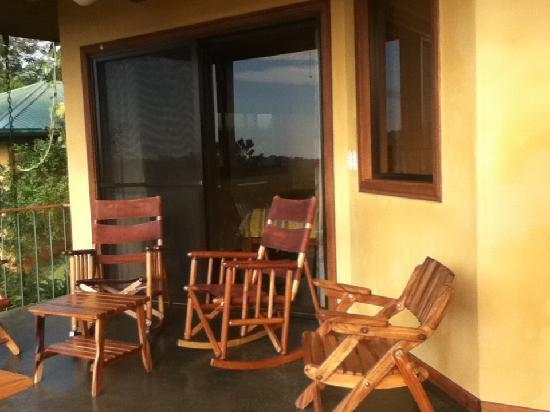 Hotel Luna Azul: Private patio