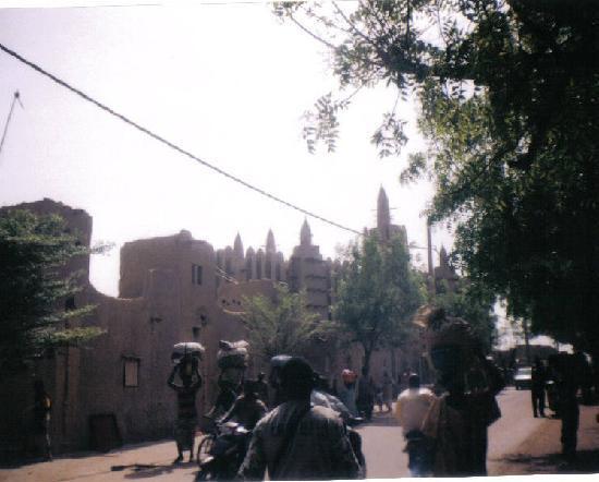 Mud Mosque of Mopti Mali