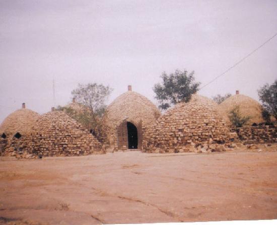 Mudhive houses near Mopti Mali