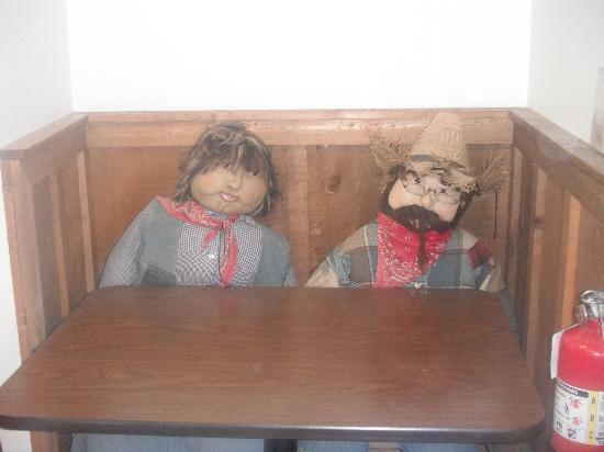 Wikieup Trading Post: found this pair taking a break! haha!