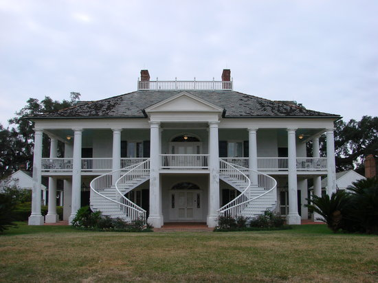 Edgard, LA: front of the plantation