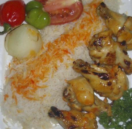Mil y Una Noche: Pollo Kebab con Hueso