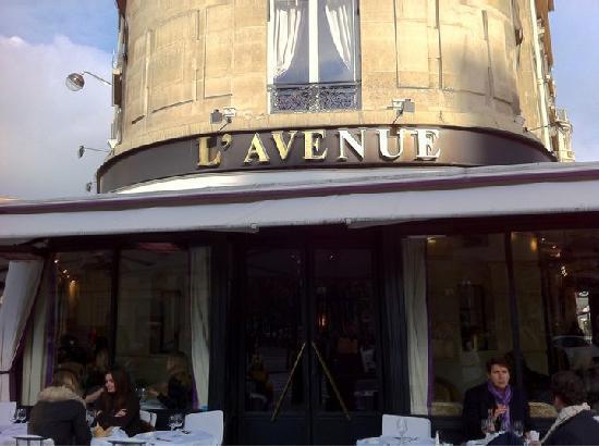 L 39 avenue parigi 41 avenue montaigne champs lys es for Miglior ristorante di parigi
