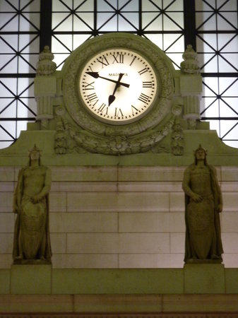 Union Station clock