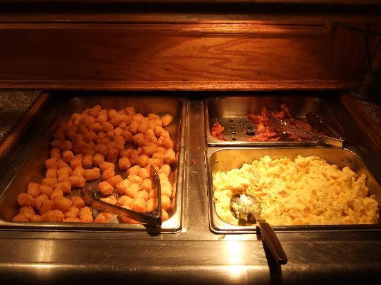 Richardson, Техас: 朝食の一部(ビュッフェスタイルです)