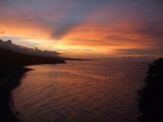 Bali Waenis Sunset View: from my room !
