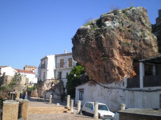Jaen, Spagna: El peñón