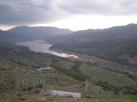 Jaen, Spagna: El Tranco en verano