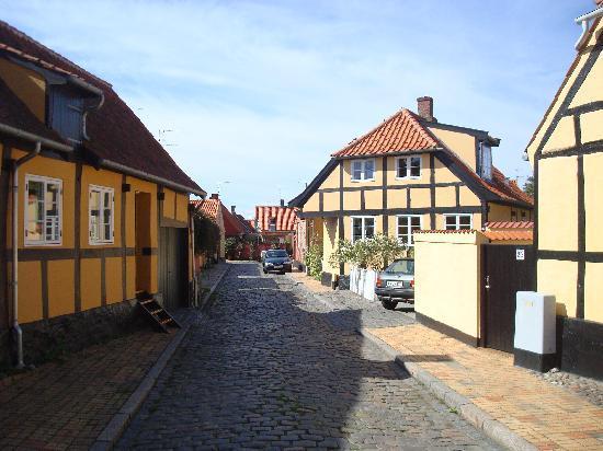 Roenne, Denmark: Altstadt 2