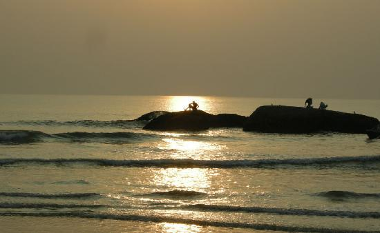 Sunset Agonda beach, Goa
