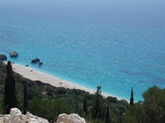 Lefkada, Greece: Kalamitsi