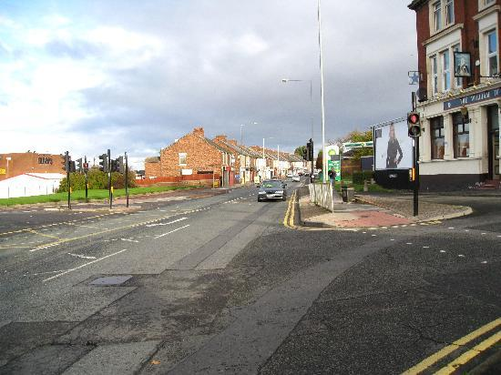 Durham Road by The William IV Hotel.
