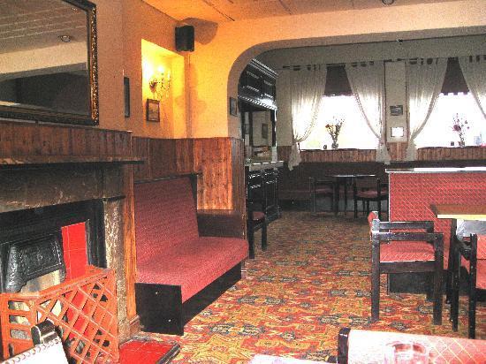 William IV Hotel's comfortable bar area.