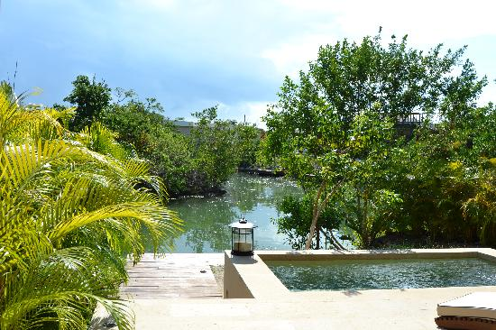 Rosewood Mayakoba: Our room on the lagoon...w/private pool.
