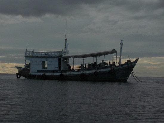 DJL Diving: the DJL boat