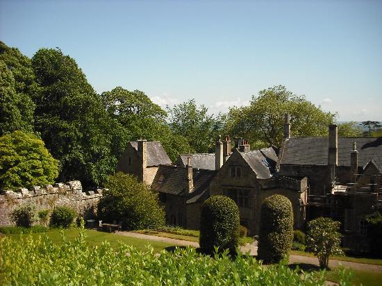 Clevedon Court: Quiet gardens