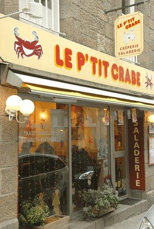 Le P'tit Crabe: la façade
