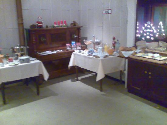 Arnimsruh Hotel Garni: Vorhandene Frühstücksauswahl