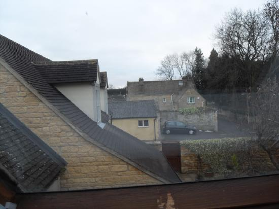 Redesdale Arms Hotel: view from our bedroom
