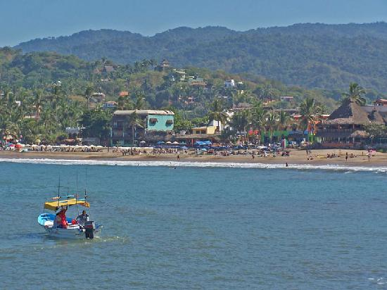 Sayulita, Messico: View from boat launch