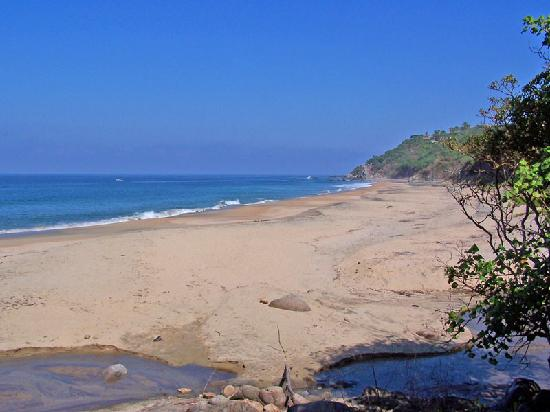 Сайюлита, Мексика: Playa Patzcuarito- beach just south of Sayulita