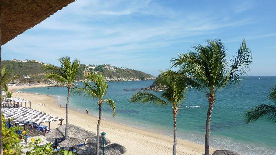 Barcelo Huatulco: view from our room