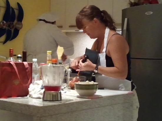 Epicurean Chef Services : hard at work!