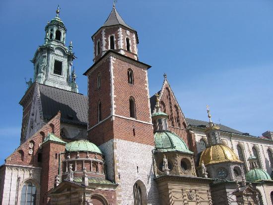 Krakow, Polen: ヴァヴェル城