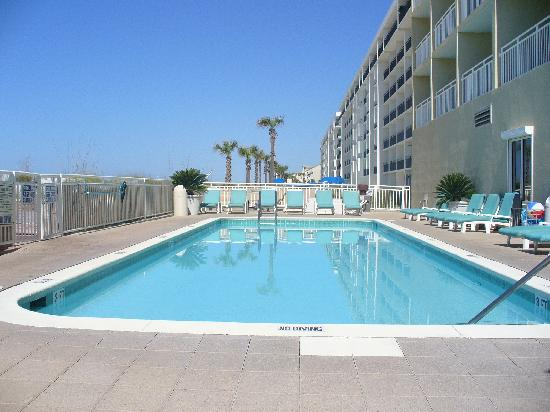 Best Western Ft Walton Beachfront Swimming Pool