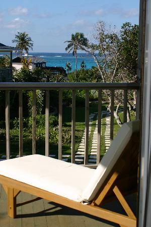Pineapple Fields Resort: View from Verandah