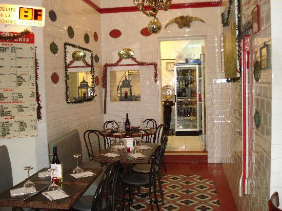 Le Garcon Boucher : l'interieur
