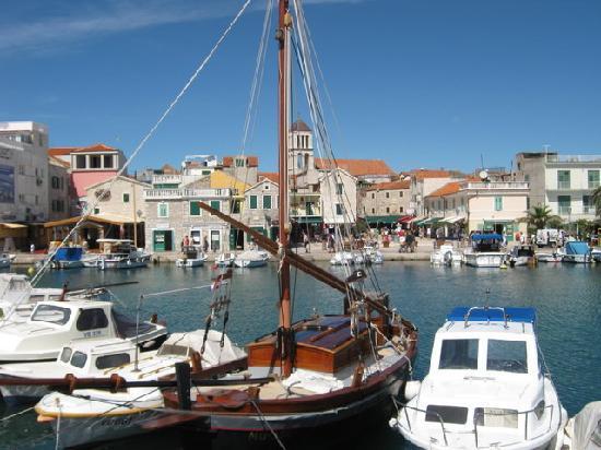 Водице, Хорватия: Blick auf Vodice