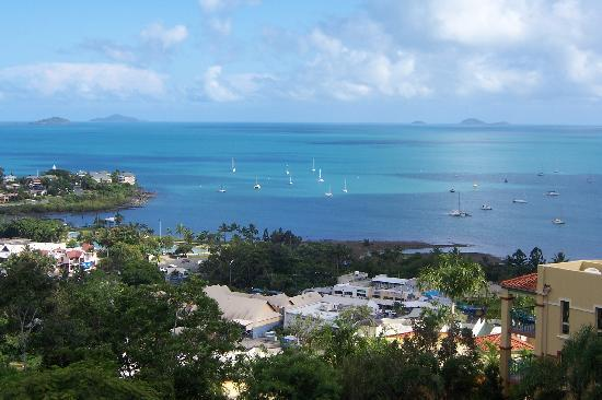 Whitsunday Reflections: view from balcony