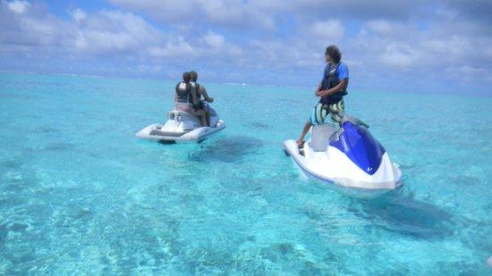Four Seasons Resort Bora Bora: EXCURSION EN MOTO NAUTICA