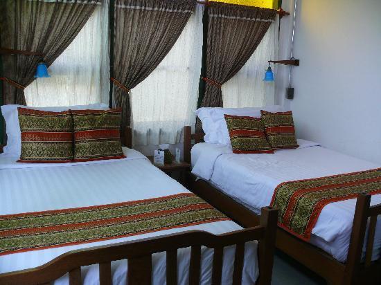 Pak Chiang Mai: Twin room