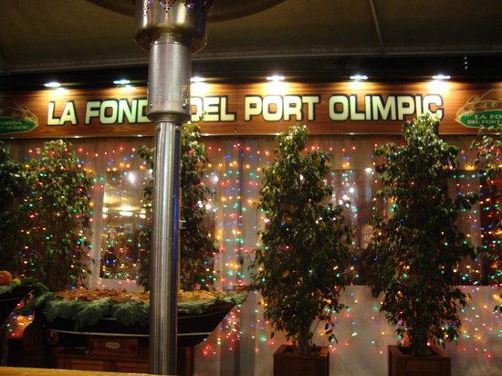 La Fonda del Port Olimpic: esterno