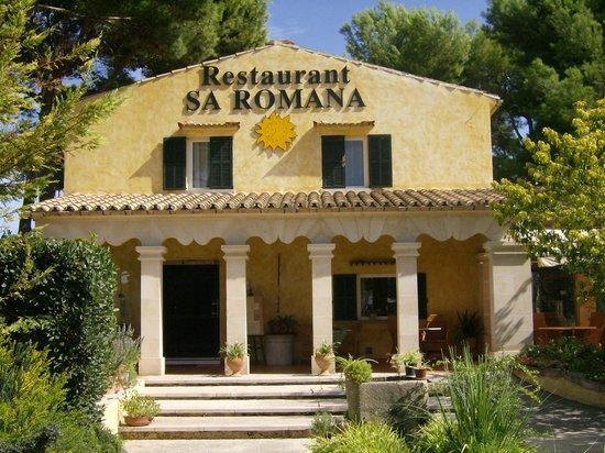 Fachada principal de Sa Romana