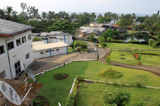 Hotel Seme Beach: View from ocean view room in main building
