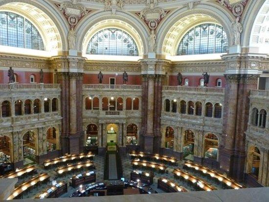 Bibliothèque du Congrès : Reading Room, Library of Congress