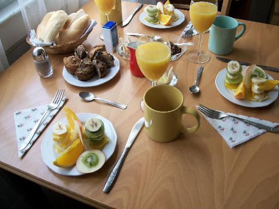 GuestBed Budapest: a delicious breakfast