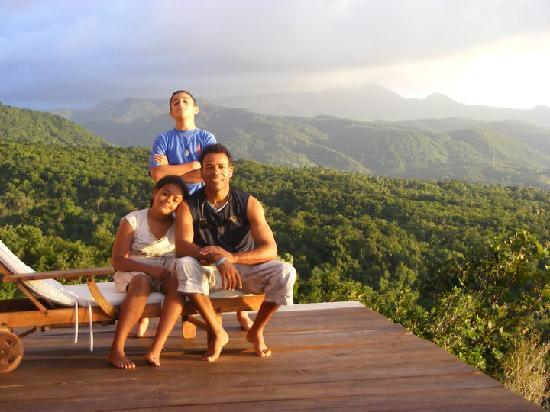 Manicou River: My family soaking up the tranquility