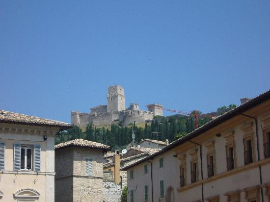 Assisi, Italy: Castle