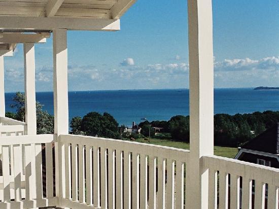Meeresblick Hotel: Der Blick von den Balkonen