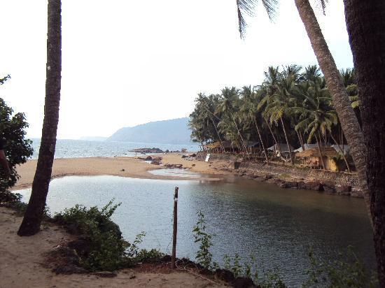 Dwarka Eco Beach Resort: vieuw from the hut