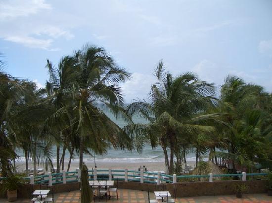 El Yaque Paradise Hotel: habiatacion frente al mar