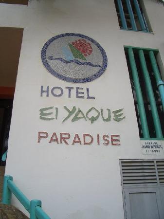 El Yaque Paradise Hotel: entrada