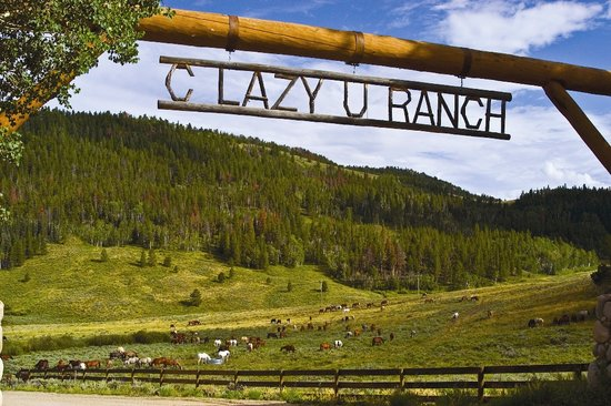 C Lazy U Ranch: C Lazy U Entrance and its 200 horses