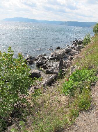Walk the shores of Lake Baikal