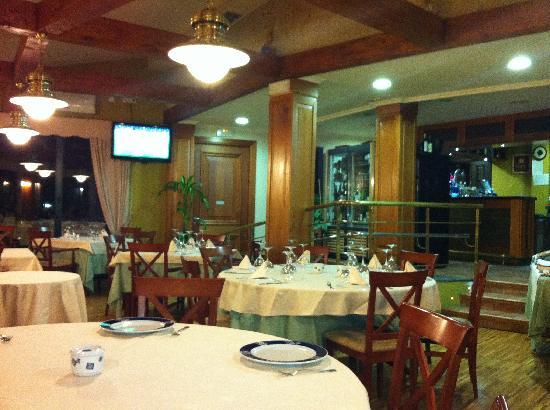 Baiona, Spanje: El restaurante